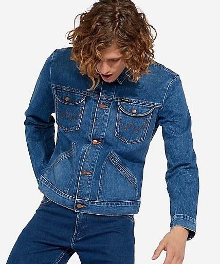 Jaqueta Masculina Jeans Wrangler Icons Original Importada