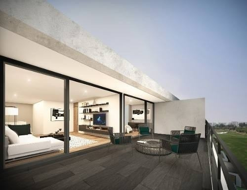Estrena Penth House Luxyry En Zibatá, 2 Recámaras, Roof, 2.5 Baños, 2 Niveles