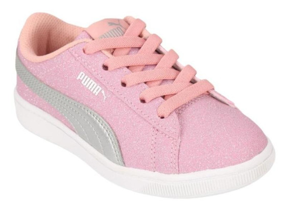 Zapatillas Puma Vikky Glitz Infantil 37227002