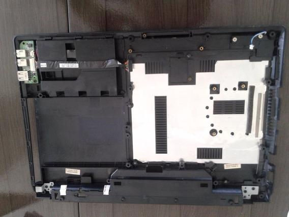 Carcaça Base Inferior Com Tampas- Usb Notebook Philco 14d