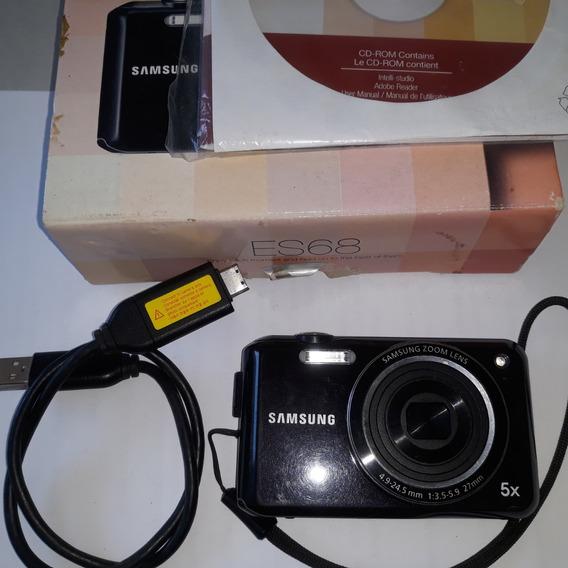 Câmera Digital Sansung Lens , 5x Es68
