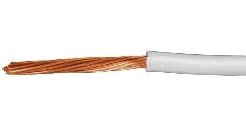 Cable Calibre 10 Thhw-ls Blanco Voltech 46055