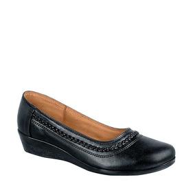 Zapato Cómodo Con Cuña Shosh Ab132458 Mujer