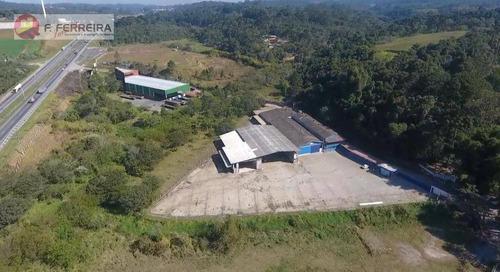 Galpão, 3525 M² - Venda Por R$ 5.500.000 Ou Aluguel Por R$ 55.000/mês - Potuverá - Itapecerica Da Serra/sp - Ga0019