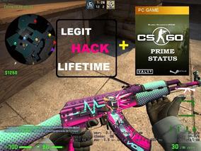 Legit Hack Csgo / Cs Go - Módulo Lifetime + 01 Cs:go Prime!