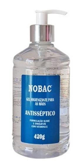 Álcool Gel 70% Antisséptico Bactericida Nobac 420 G