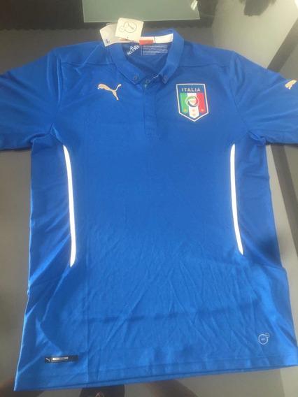 Camiseta De Fútbol Italiana Titular Año 2014 Original