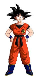 Fantasia Goku Adulto Com Botas