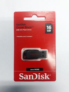 Pendrive Sandisk Cruzer Blade 16gb Usb 2.0 Z50