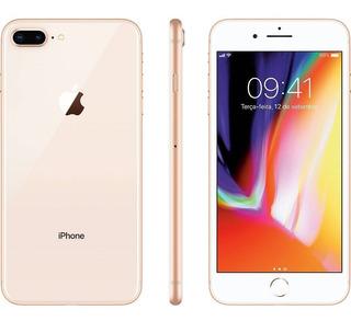 iPhone 8 Plus Apple 256gb Dourado - Usado