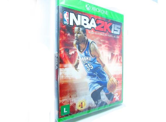 Jogo Nba2k15 - Mídia Física - Original - Xbox One