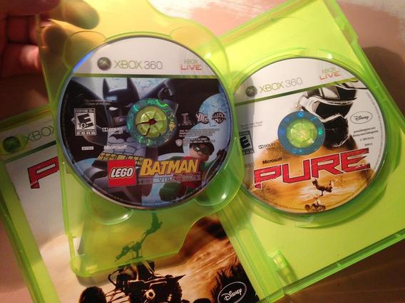 Xbox 360 Batman Lego E Pure 2 Midias Fisica Frete Grátis 129