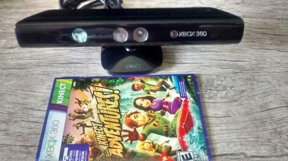 Sensor Kinect Xbox 360 + 1 Jogo
