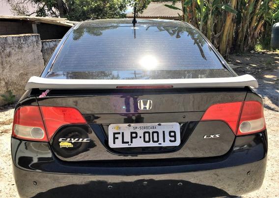 Aerofólio Abs Brake Light Honda Civic 2007 - 2011 Mod Si
