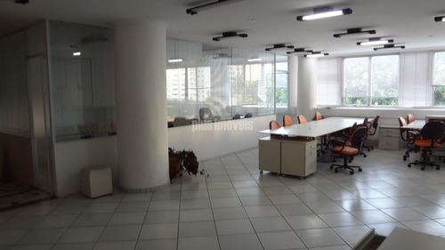 Conjunto Comercial, Impecável,semi-mobiliado Na Região Do Brooklin Paulista - Ab130947