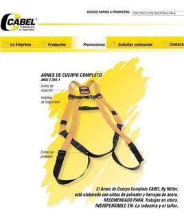 Arnes Clase 1 Con Línea De Vida Elástica Cabel Toys4boys