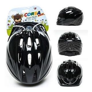 Capacete Infantil Com Regulagem Cores Para Bicicleta