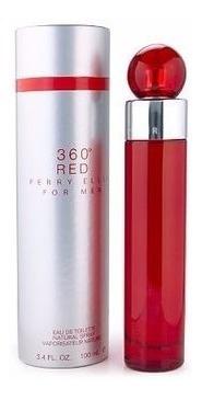 Imagen 1 de 3 de Perfumes Perry Ellis 360° Red 100ml Caballero