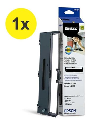Fita Orignal Epson S015337 Para Impressora  Lq-590