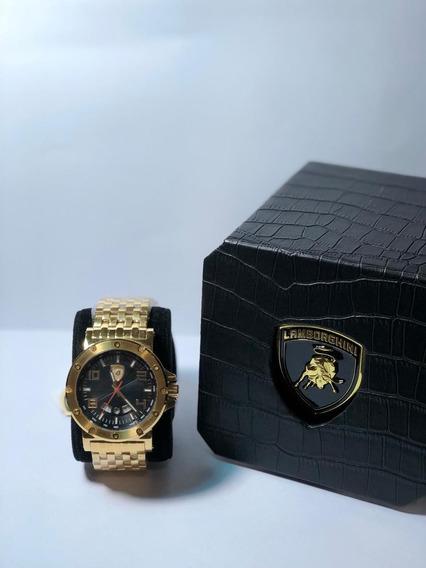 Relógio Lamborghini Quartz(modelo Lb90038275m)