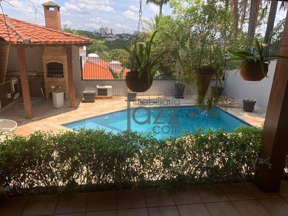 Fantástica Casa Com 3 Dormitórios (2 Suítes) À Venda, 250 M² Por R$ 1.100.000 - Parque Taquaral - Campinas/sp - Ca6364