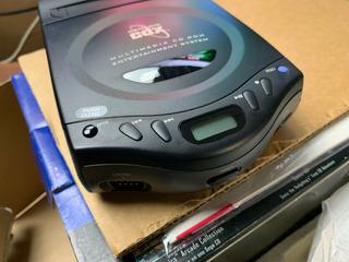 Sega Genesis Cdx Launch Edition Black Console