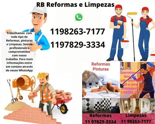 Imagem 1 de 1 de Rb Reformas E Limpezas