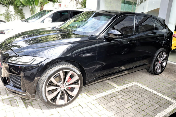 Jaguar F Pace S 3.0 V6 Supercharged 2017 Blindado Bss Nova