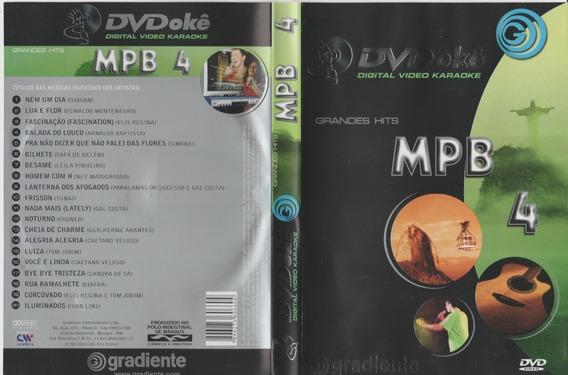 Dvdokê Mpb Vol 4 Grandes Hits Gradiente