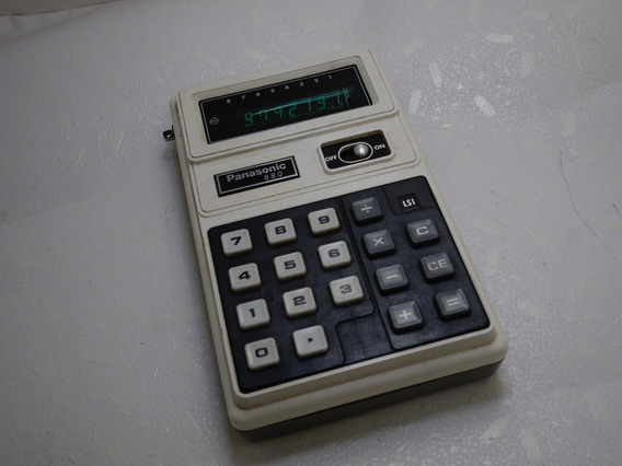 Calculadora Antiga Panasonic 880 = Texas Hp