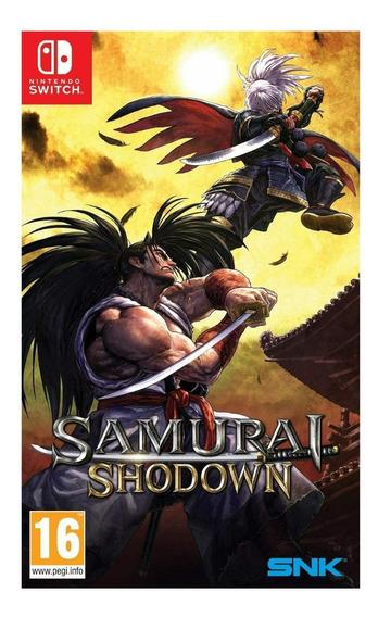 Encomenda Jogo Mídia Física Samurai Shodown Nintendo Switch