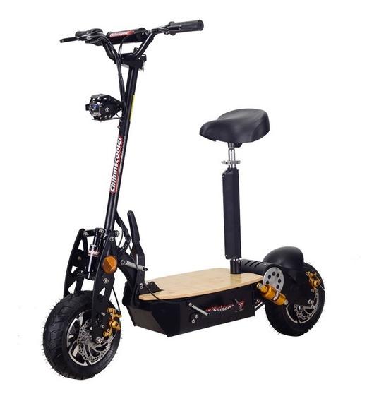 Monopatin Scooter Con Asiento 48v 1600w 50km/h 25km Un Misil