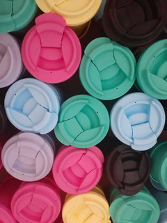 Pack X 2 Vasos Térmicos Polipropileno. 400m Microhondas
