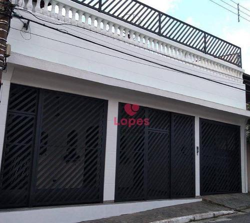 Sobrado Com 2 Dormitórios, 268 M² - Venda Por R$ 830.000 Ou Aluguel Residencial Ou Comercial R$ 4.500/mês - Vila Prudente (zona Leste) - São Paulo/sp - So0048