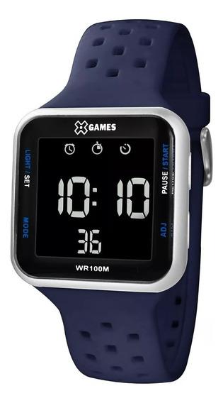 Relógio X-games Masculino Digital Xgppd092 Cinza Negativo