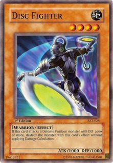 Disc Fighter - Ast-028 - Common