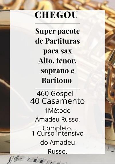 Partituras Gospel+play Back+ Brindes Com Video Aula.