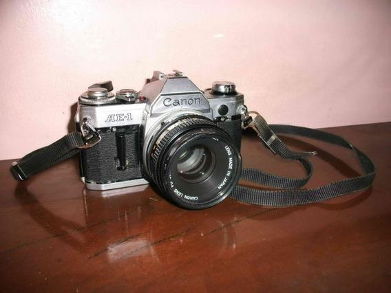 Camara Fotografica Profesional Canon Modelo Ae-1 Art Vintage