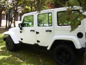 Jeep Wrangler 2014 4x4 Piel Personalizado Impecable Dueña
