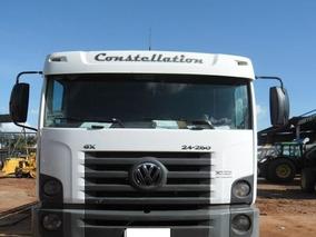 Caminhao Vw Constellation 24250 6x2 2007/2008 Com Munck