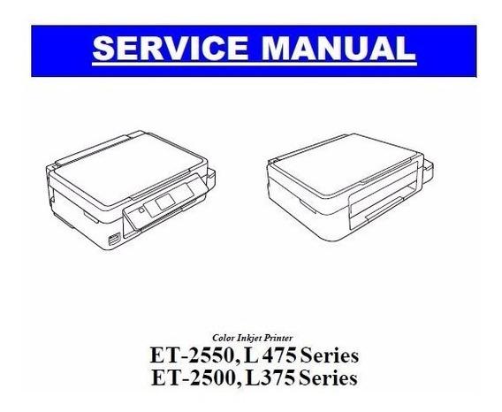 Manual De Serviço Epson L375 / L475