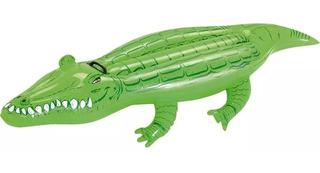 Boia Inflável Infantil Para Piscina Crocodilo Jacaré - Mor