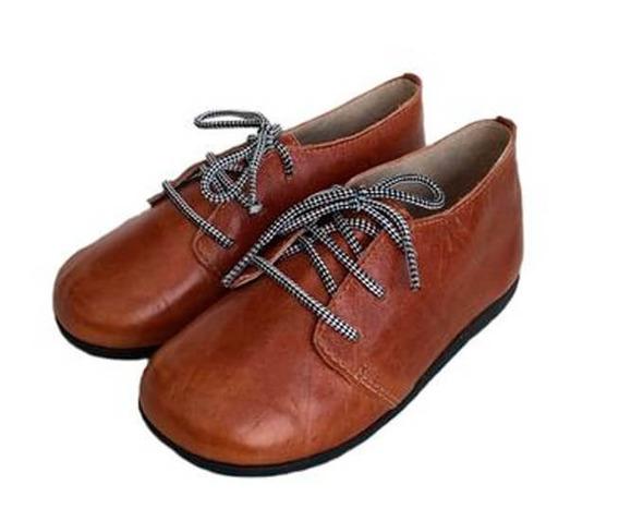 Sapato Infantil Masculino Marrom New Wave Shoes Babo Uabu