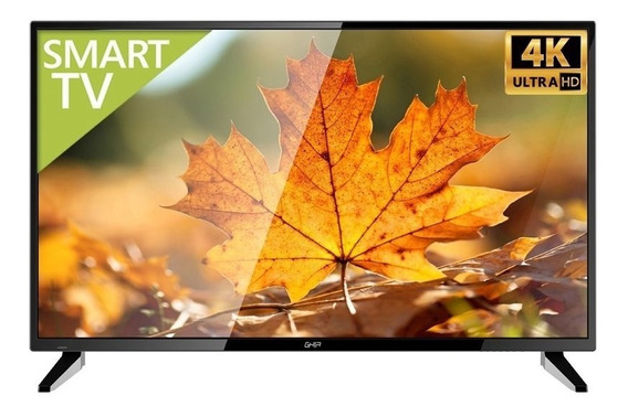 Television Led Ghia 55 PuLG Smart Tv Uhd 4k 3 Hdmi / 2 Usb /