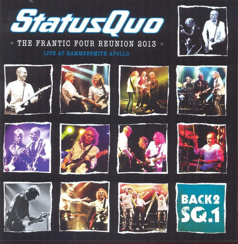 Imagen 1 de 2 de Status Quo  - Live At Wembley  - Cd + Dvd