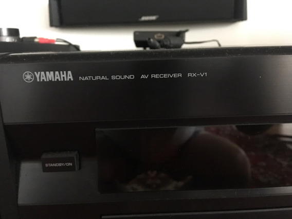 Receiver Yamaha Rx-v1 7.1 Canais, Espetacular .