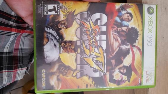 Super Street Fighters 4 Xbox 360 Mídia Física Impecável