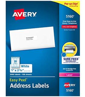 Avery Ave05160 Etiquetas De Dirección Fácil