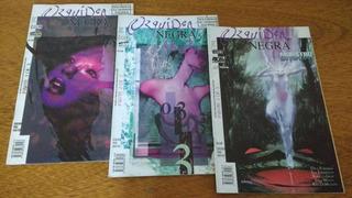 Gibi,hqs,orquídea Negra Mini-série Em 3 Eds.-ed.metal Pesado
