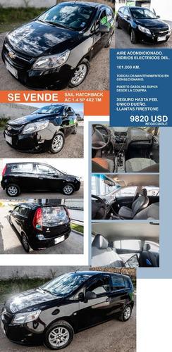 Chevrolet Sail Hatchback 2014 Ac Mantenimientos En Conscnria